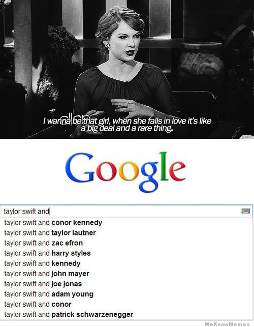 """Taylor Swift And"" Meme"