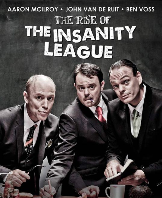 "WIN! A Double Ticket To ""Rise of The Insanity League"""