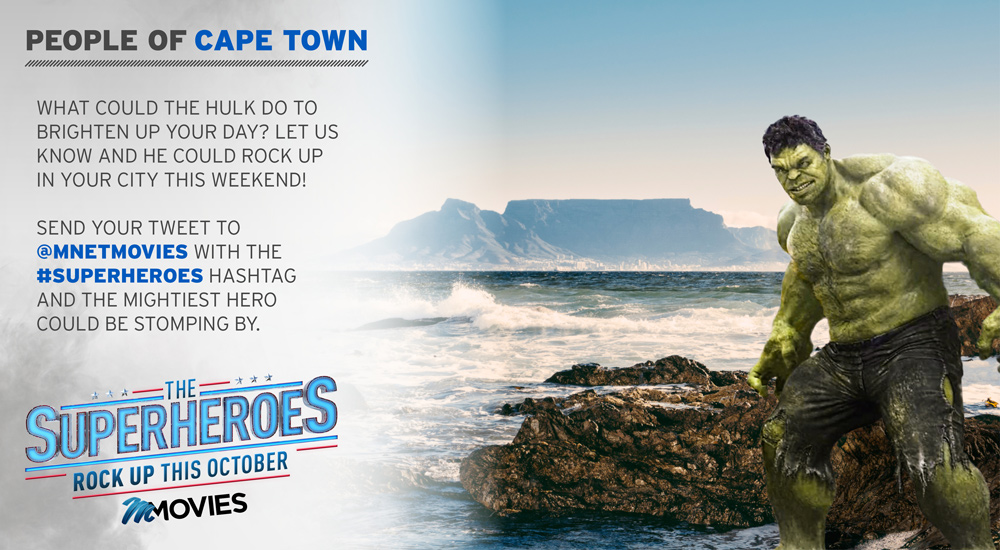 #Superheroes Rock Up In Cape Town