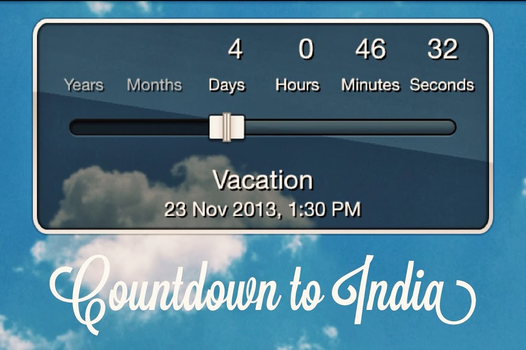 Four Days To India