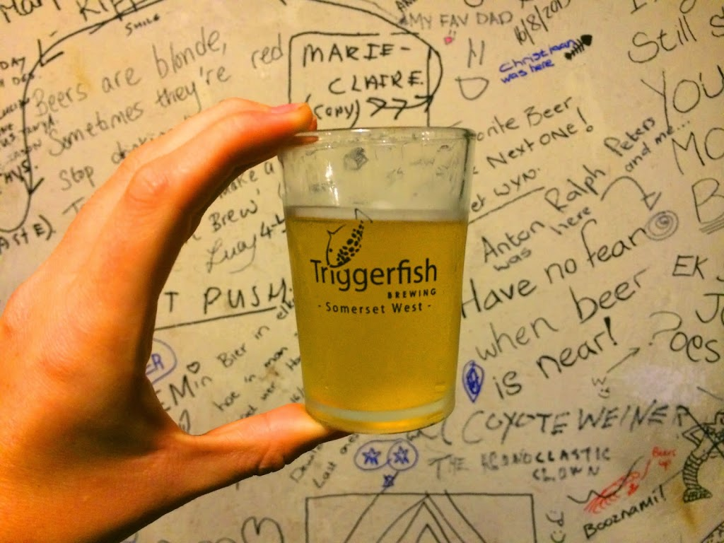 Eat Cape Town: Triggerfish Brew