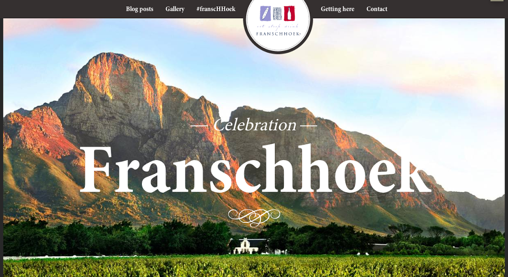 New project: Discovering #franscHHoek