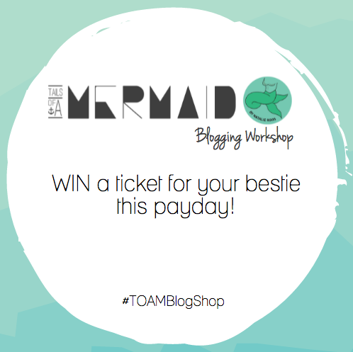 #TOAMBlogShop: Payday Bestie Ticket Competition