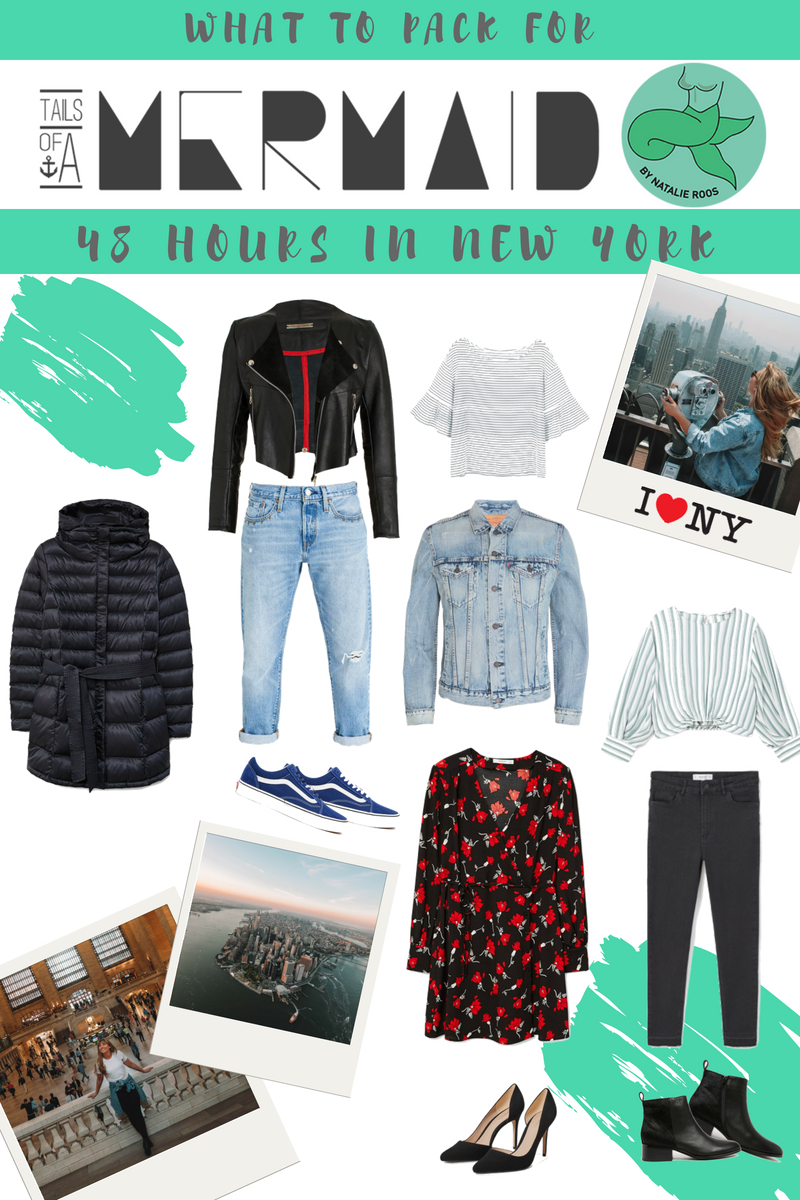 what to pack for 36 hours in  New York